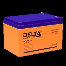 Гелевая Аккумуляторная батарея Delta GEL 12-15 (12V / 15Ah)