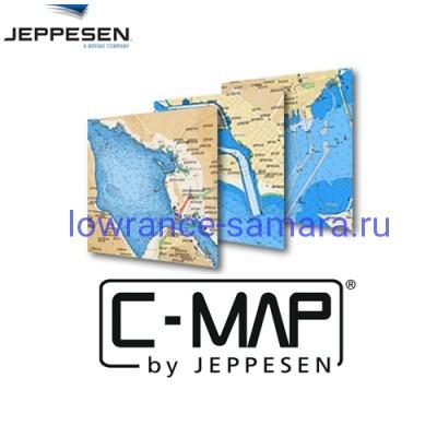 Карты для эхолотов Lowrance с глубинами