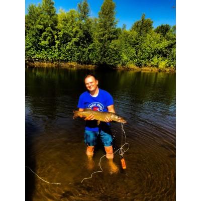 Рыбалка на Джиг в коряжнике