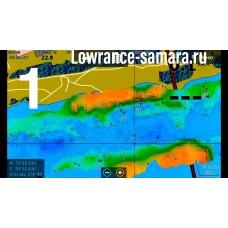 Карты Lowrance  для эхолотов - картплоттеров