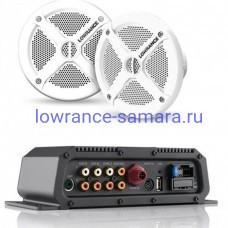 Аудиосервер Lowrance SonicHub2 + 2 колонки Lowrance Speakers